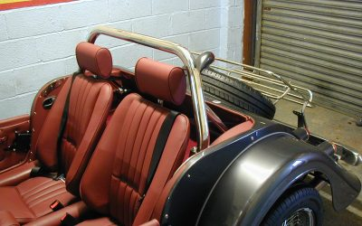 Morgan Roll Bar Installation