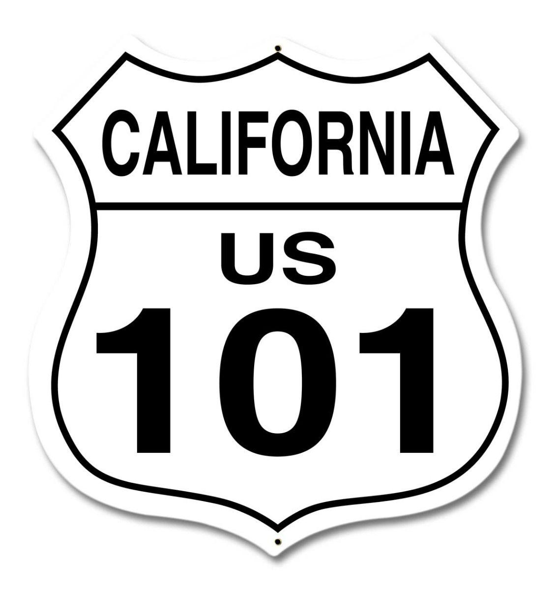 California Us Route 101 Sign
