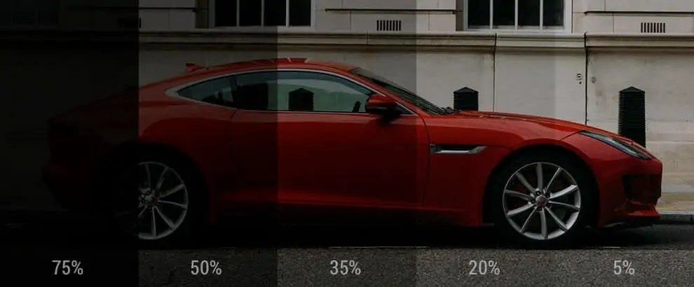Car Window Tinting Percentage Laws In The Us By State Garagechief