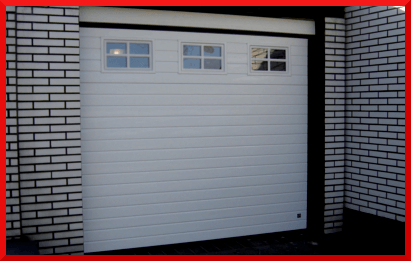 Ribbed Garage Doors