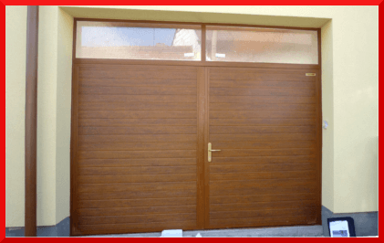 Double leaf Doors