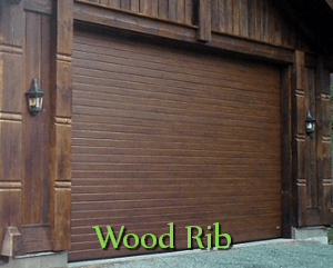 Wood Rib Panels Doors