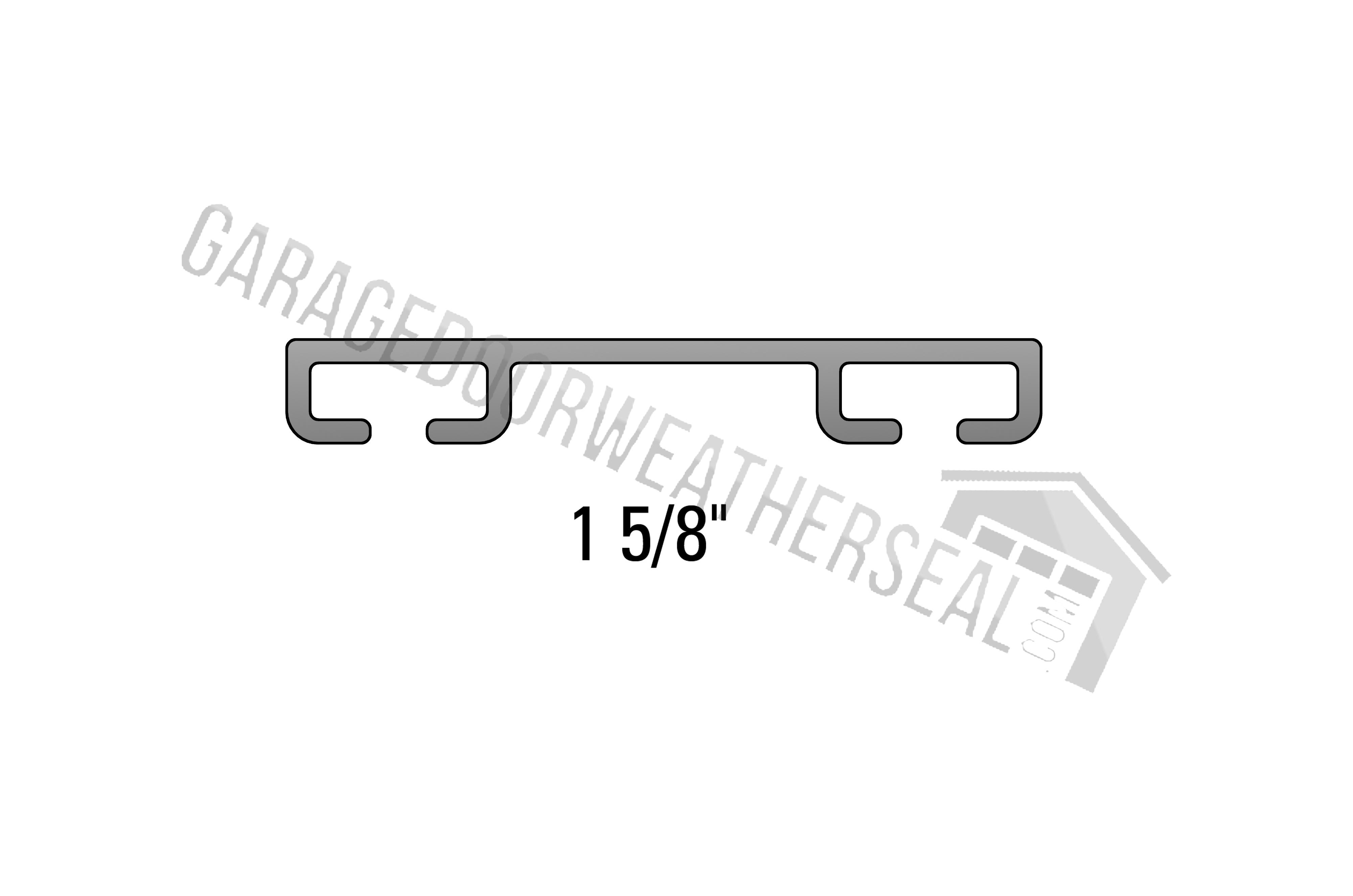 Overhead Garage Door Weather Seal Retainer Flat 1 5 8