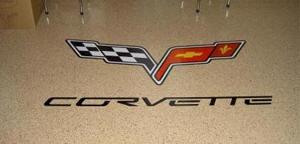 Photo of Corvette Custom Logo and Graphic