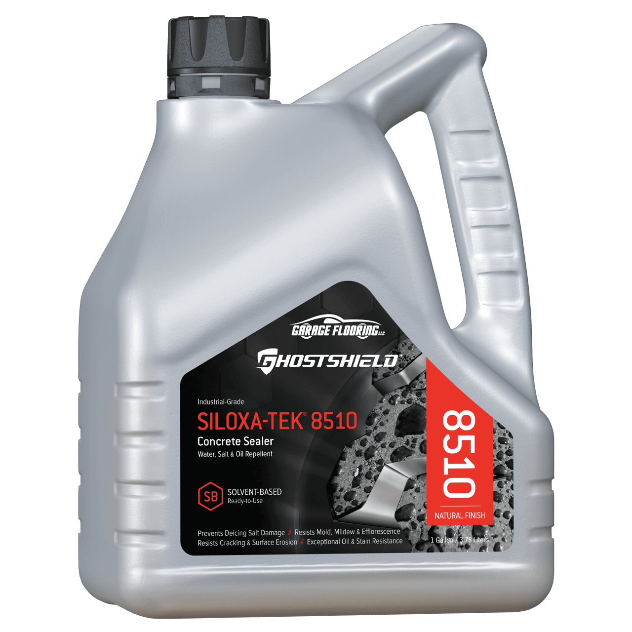 Ghostshield Siloxa Tek 8505 And 8510 Oil Repellent