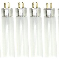 (Pack of 6) F8T5/CW 8-Watt T5 12-Inch Linear Fluorescent Light Bulbs, 4100K Cool White
