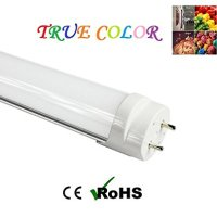 "Fulight Full Spectrum¤ T8 LED Tube Light (Dimmable)- 4FT 48"" 18W (32W Equivalent), Daylight 4000-4500K, FO32/950/CW, F32T8, F34T12, Double-End Powered, Frosted Cover - Fluorescent Replacement Bulbs for Arts, Food & Jewelry Stores, and Medical Lighting"