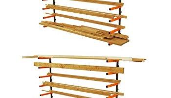 Wall Mounted Lumber Storage Ideas
