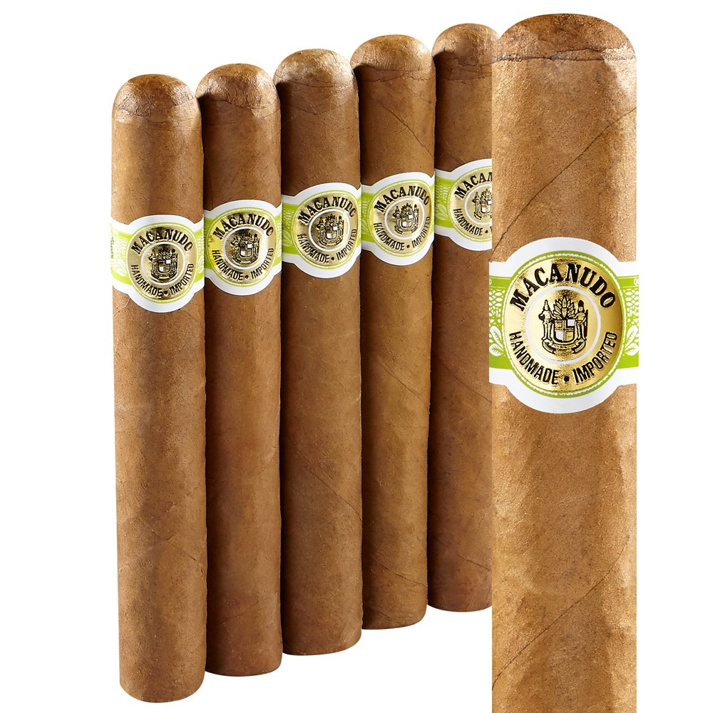 Macanudo Cafe Hyde Park Robusto 5 Pack
