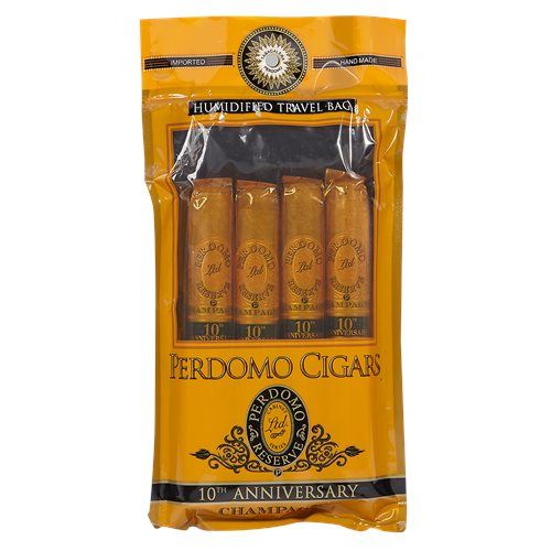 Perdomo Humidified Sampler 4 Pack Champagne