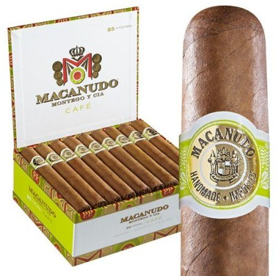 Macanudo Cafe Hyde Park Box Front