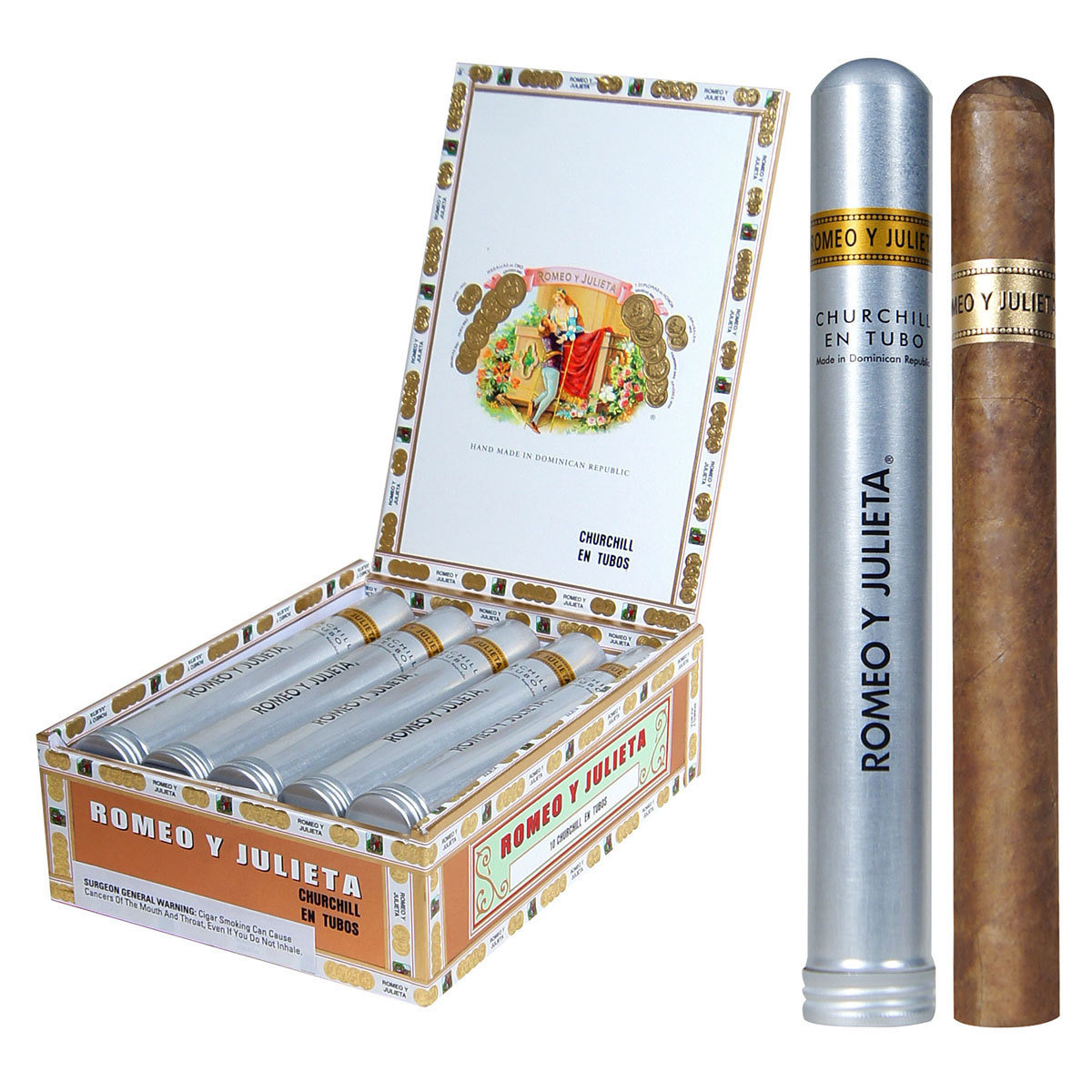 Romeo Y Julieta 1875 Churchill Tube Box