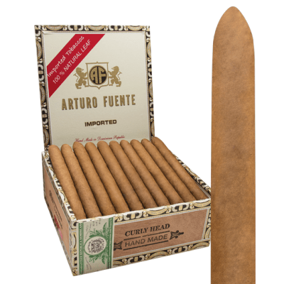 Arturo Fuente Curly Head Candela Claro Box