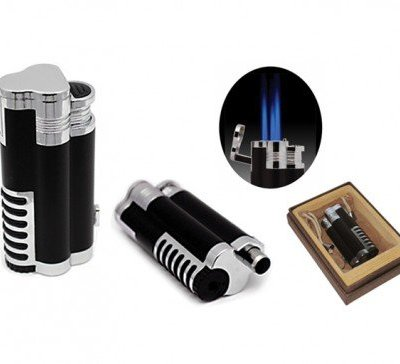 Cyclone Tri-torch Lighter Black