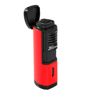 JetLine Villano Quad Torch Lighter Red