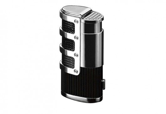 Supernova Triple Flame Torch Lighter Black