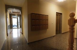 Vista del Vestíbulo y buzones del correo
