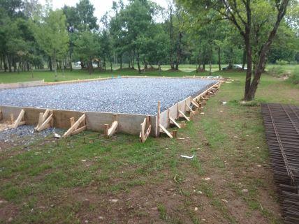 Cementación para pistas de pádel
