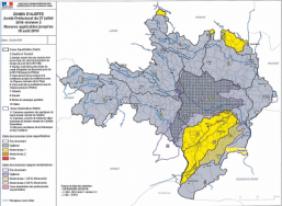 Sécheresse dans le Gard : Situation au 27 juillet 2016