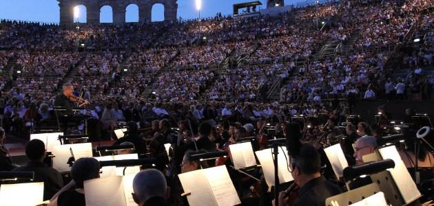 Arena di Verona, Orchestra