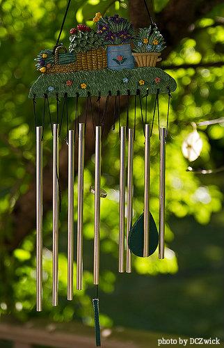 Ceramic Wind Chimes Decorative Unique Wind Charms Garden