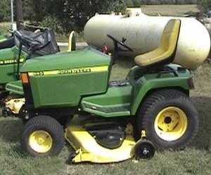 Fixing up your John Deere John Deere445 – Garden Tractor Info