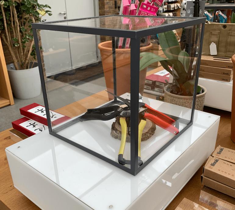 The niwaki table...