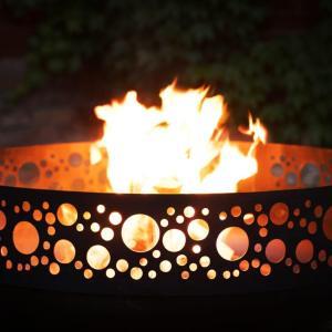 designer fire pits