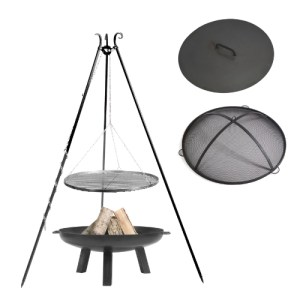 Fire Pit With Tripod