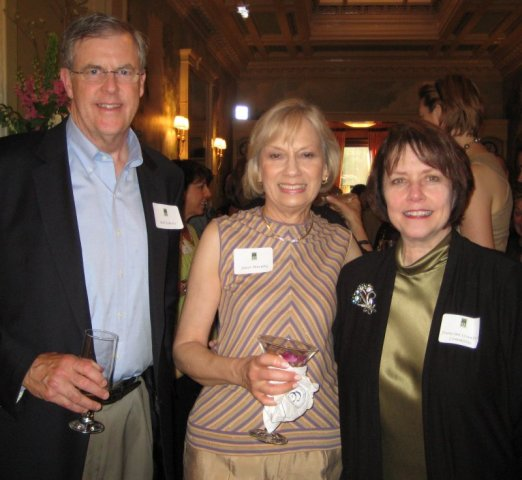 Bill Roberts, Janet Murphy, and Francine Crawford