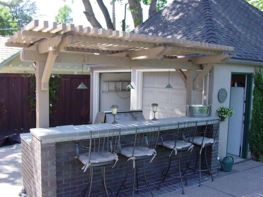 Poolside Bar Gardencrafters