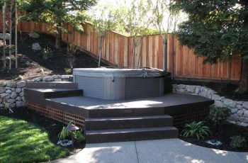 Best 25+ Hot Tubs Landscaping Ideas On Pinterest | Hot Tubs intended for Small Backyard Landscaping Ideas With Hot Tub