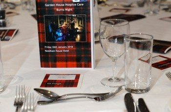 Burns Night At The Garden House Hosbice – Hitchin Camera Club intended for Garden House Hospice Burns Night