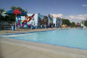Big Pool's Big Mural Featured In Time-Lapse Video | Hppr throughout Garden City Big Pool