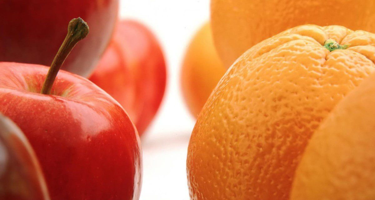 Organics In The News: The Apples & Oranges Study