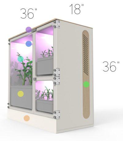 Fully Automated Smart Garden: Oasis Mini