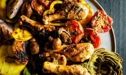 Grilling Perfection: Meat & Veg Bliss