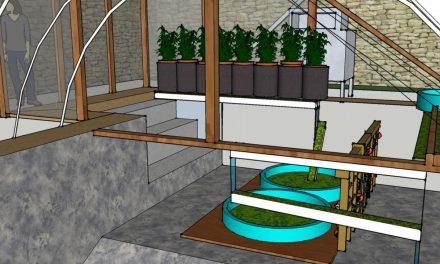 The Repurposed Hydro Micro Farm