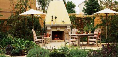 10 Great Outdoor Fireplaces Garden Design Calimesa, CA