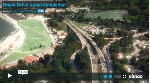Presidio Parkway Video Simulation