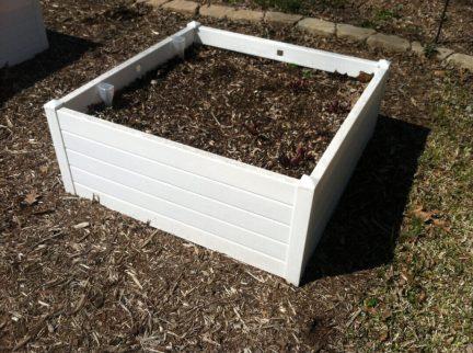 Raised Self-Watering Beds