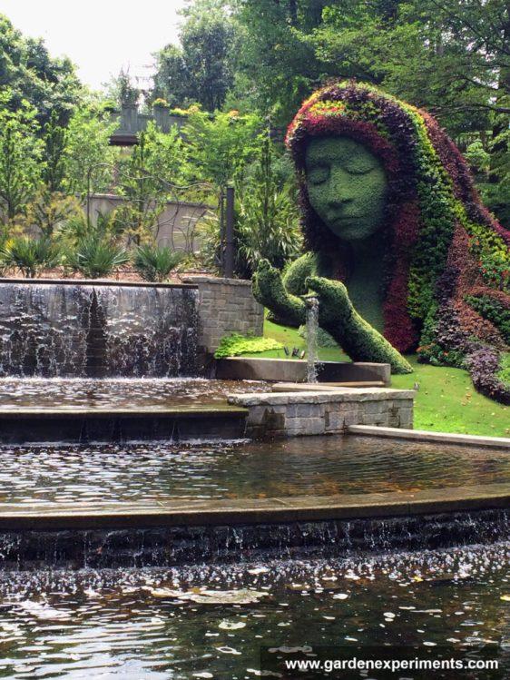 Earth Goddess at the Atlanta Botanical Gardens