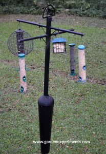 Squirrel Stopper Bird Feeder Pole