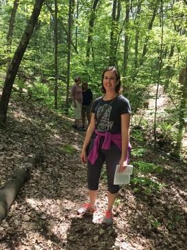 Walking the Loda Lake Wildflower Trail