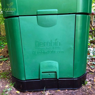 removable side door on the Aerobin Composter