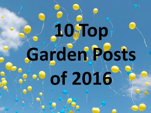 10 top garden posts of 2016