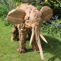 Garden Ornaments Wooden Recycled Upcycled