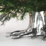 Christmas Tree Stand The Root In Silver Order Online Free Shipping