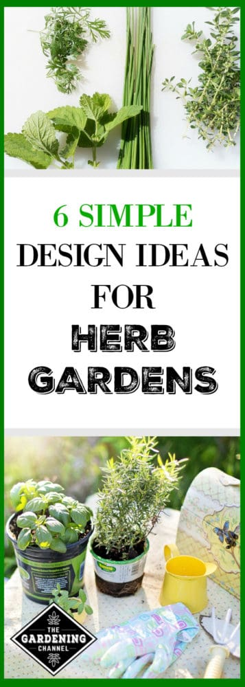 Six Simple Design Ideas for Herb Gardens - Gardening Channel