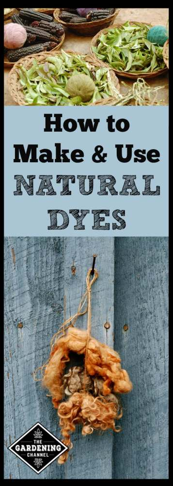 how to make and use natural safe dyes
